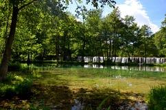 Plivsko jezioro Zdjęcia Royalty Free