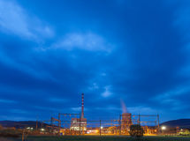 Pljevja termiczna elektrownia Fotografia Royalty Free