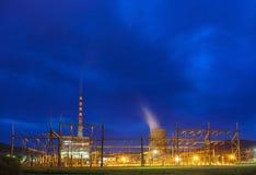 Pljevja termiczna elektrownia Zdjęcia Royalty Free