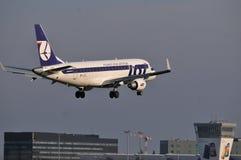 PLL全部飞机 免版税库存照片