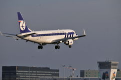 PLL-PARTIJvliegtuig Royalty-vrije Stock Foto