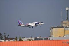 PLL-PARTIJvliegtuig Royalty-vrije Stock Afbeelding