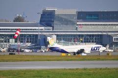 PLL-PARTIJvliegtuig Stock Afbeelding