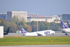 PLL udziału samolot Zdjęcie Royalty Free