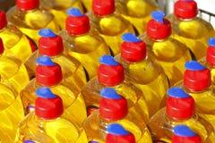 Pllastic-Flaschen Stockbild