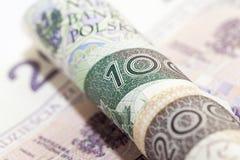 PLN закрывают вверх Стоковые Изображения