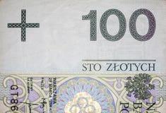 100 PLN Imagem de Stock