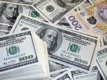Pln dos usd do dinheiro Fotografia de Stock Royalty Free