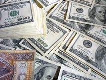 Pln dos usd do dinheiro Fotos de Stock Royalty Free