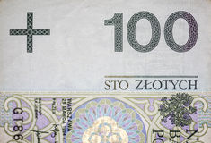100 PLN Stock Image
