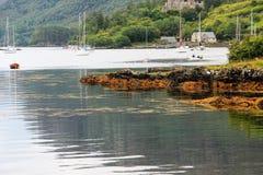 plockton Σκωτία Στοκ φωτογραφίες με δικαίωμα ελεύθερης χρήσης