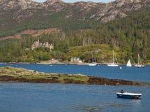 Plockton, Χάιλαντς της Σκωτίας Στοκ Φωτογραφίες