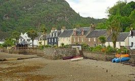Plockton, Шотландия Великобритания Европа стоковое изображение rf