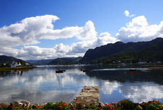 Plockton bay, scotland Royalty Free Stock Image