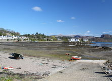 Plockton beach Royalty Free Stock Images
