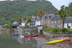 Plockton fishing village royalty free stock image