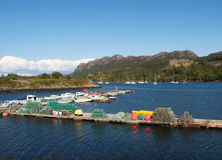 Plockton Harbour, Scotland Stock Photo
