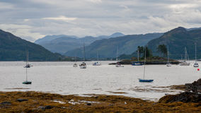 Plockton - Highlands of Scotland in the county of Ross and Cromarty Stock Photography