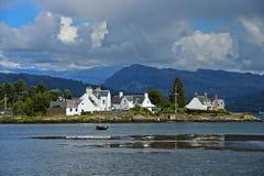 Plockton no Loch Carron Fotos de Stock Royalty Free