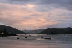 Plockton - Schotland royalty-vrije stock fotografie
