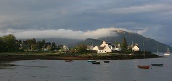 Plockton - Schotland stock afbeelding