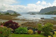 Plockton, Schotland het Verenigd Koninkrijk Europa royalty-vrije stock foto
