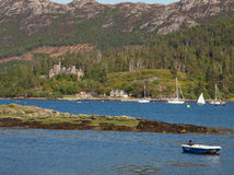 Plockton, Scotland Highlands Stock Photos