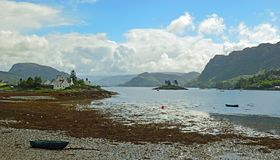 Plockton , Scotland United Kingdom Europe. Plockton is a village in the Highlands of Scotland in the county of Ross and Cromarty with a population of 378 Stock Images