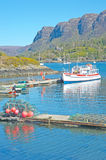 Plockton in Wester Ross. Royalty Free Stock Photo