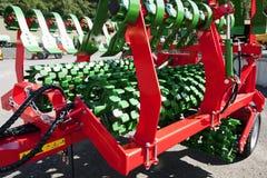 Ploeg, de landbouwmachines Royalty-vrije Stock Foto's