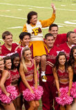 Ploeg FSU Cheerleading Royalty-vrije Stock Afbeelding