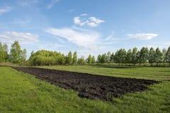 Ploegende grond Royalty-vrije Stock Fotografie