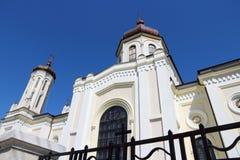 Ploiesti, Romania. Sfanta Vineri Church Church of Good Friday or Holy Friday Royalty Free Stock Images