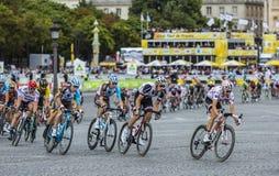 Ploka Dot Jersey à Paris - Tour de France 2017 Photo libre de droits