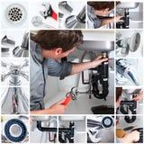 Plombier Photographie stock libre de droits