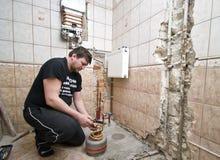 Plombier Image libre de droits