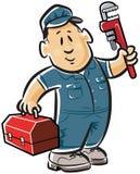 Plombier professionnel illustration de vecteur