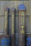 Plomería nuclear Imagen de archivo libre de regalías