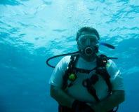 Plongée à l'air Image libre de droits