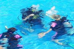 plongée Photos libres de droits