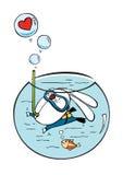 Plongée de lapin illustration stock