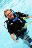 Plongeur Image libre de droits