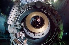 Plongeur autonome de l'espace Photos stock