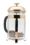 Plongeur de café Photographie stock libre de droits