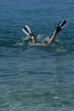 Plongeur libre image libre de droits