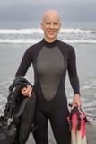 Plongeur Lifestyle Images libres de droits