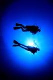 Plongeurs image libre de droits