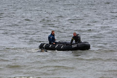 Plongeurs autonomes de NYPD Image libre de droits