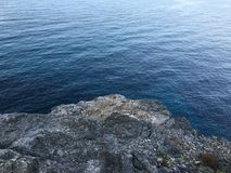 Plongez dans l'eau calme Photographie stock