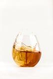Plons 1 van de whisky Stock Foto's
